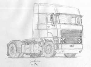 DAF trucks 3600 Spacecab